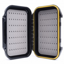 "Waterproof Pocket Box Easy Grip Foam Fly Box Portable Design for Large Flies(5.35"" x 3.38"" x 1.41"")"